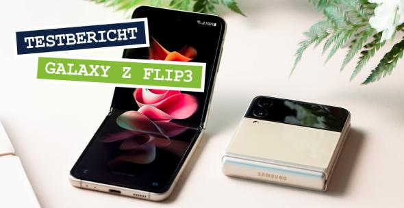 Das neue Samsung Galaxy Z Flip3