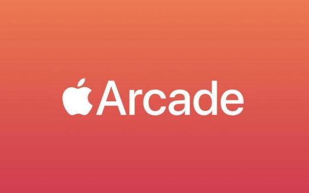 Apple Logo mit Arcade