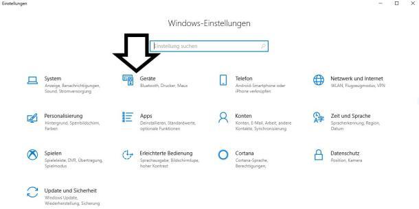 Handy mit PC verbinden via Windows Einstellungen