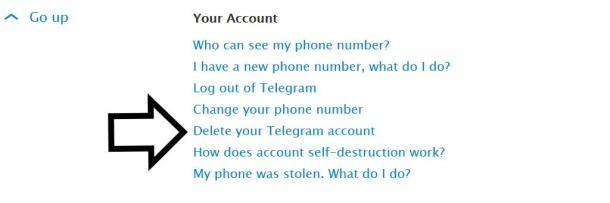Screenshot Telegram löschen 2