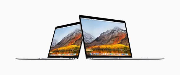 Das neue MacBook Pro in den 13 und 15 Zoll ausführung