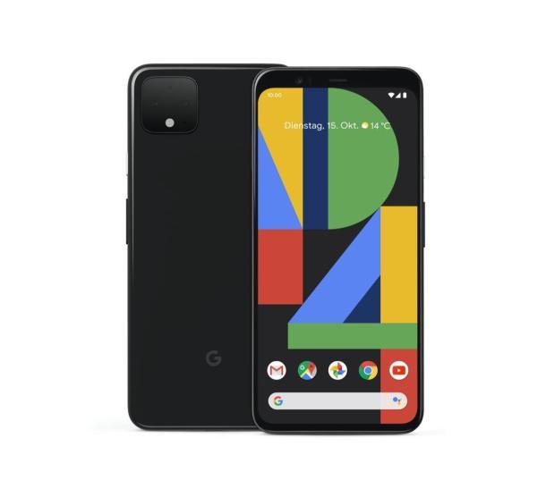 DasGoogle Pixel 4 in Just Black