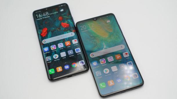 Das Display des Huawei Mate 20 misst 6,53 Zoll in der Diagonale.