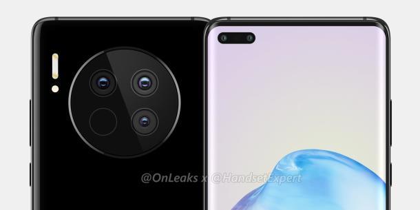 Das Huawei Mate 40 (Pro) könnte so aussehen.