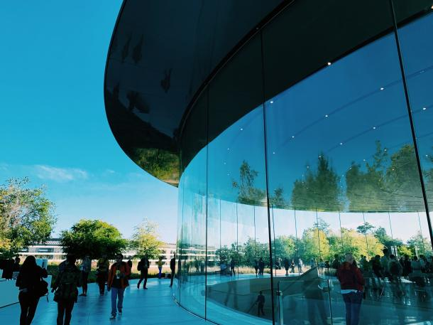 DieApple-Zentrale in Cupertino