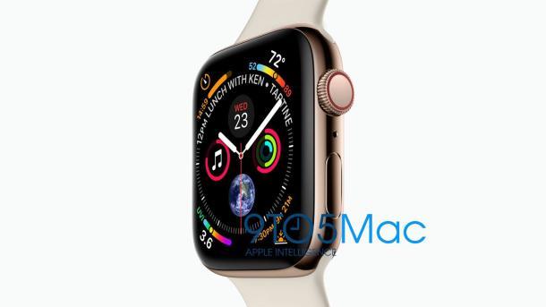 So könnte die neueApple Watch aussehen.
