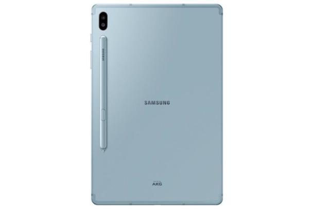 Die Rückseite desSamsung Galaxy Tab S6