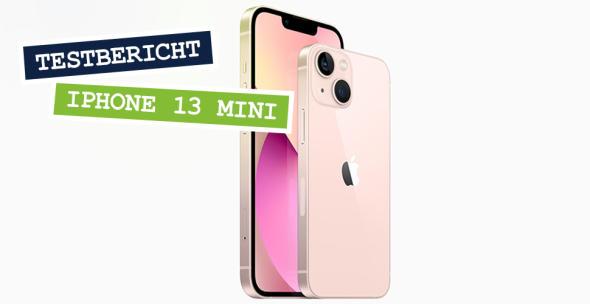 Zwei rosafarbene iPhones zum Größenvergleich nebeneinander