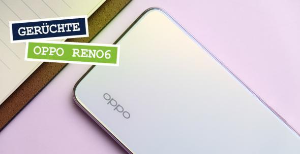 Die Rückseite eines Oppo-Smartphones