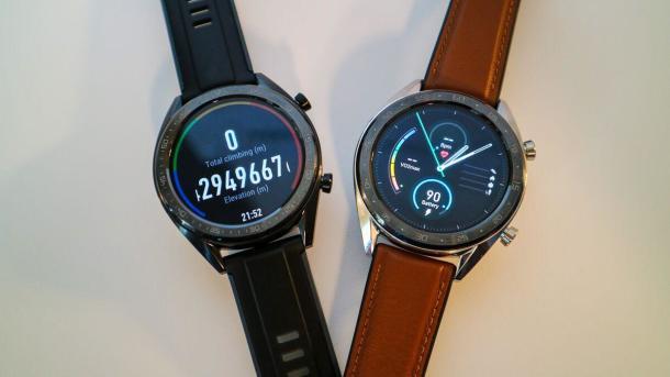 DieHuawei Watch GT kommt mit einer Laufzeit von 30 Tagen.