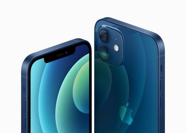 iPhone 12 von vorne und hinten