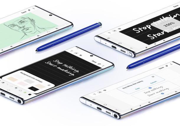 Der Stift als Highlight: DasSamsung Galaxy Note 10+