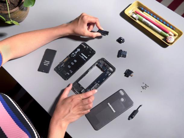 Erneut besticht das Fairphone 3 durch seine Modularität