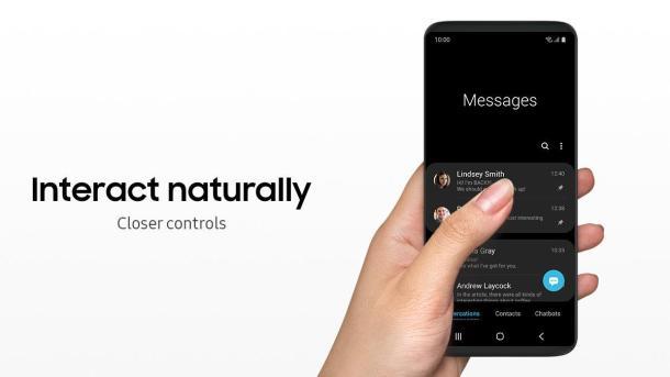 One UI wird für eine bessere Bedienung mit einer Hand sorgen.