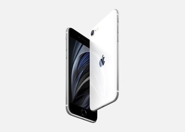 Das iPhone SE 2 in weiß