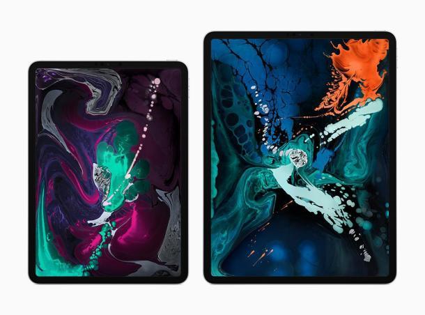 Das neue iPad Pro in zwei verschiedenen Größen.