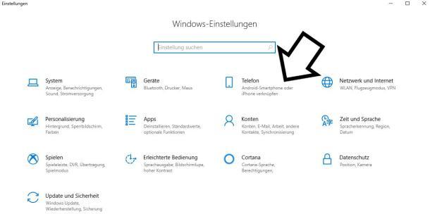 Über Windows Einstellungen Handy mit PC verbinden