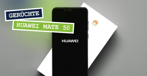 Ein Huawei-Smartphone und seine Verpackung