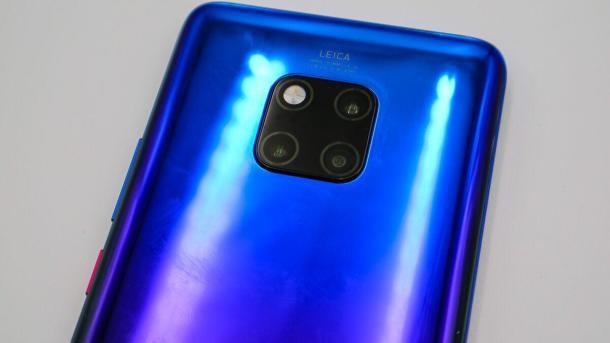 Das Huawei Mate 20 Pro kommt erneut mit einer Triple-Kamera.