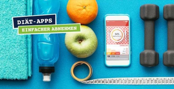 Diät Apps zum Abnehmen