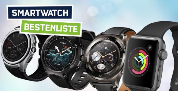 Die besten Smartwatches 500