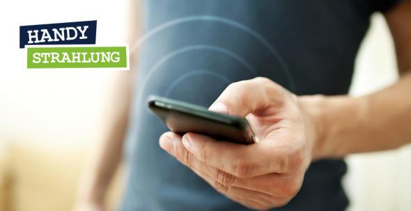 Smartphone mit Kringeln