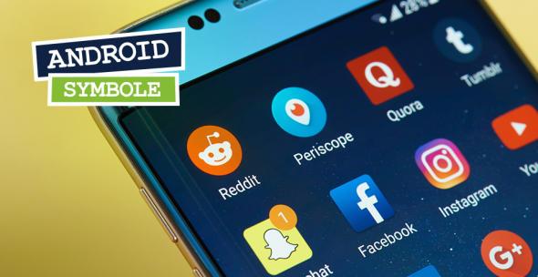 Foto eines Smartphone-Bildschirms
