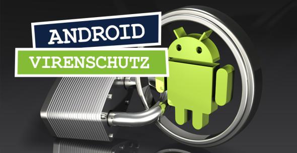 Grafik mit Schloss und Android-Männchen