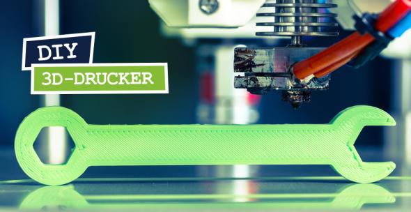 Schraubenschlüssel mit 3D-Drucker