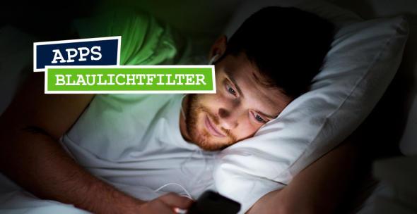 Blaulichtfilter-Apps ermöglichen einen besseren Schlaf.