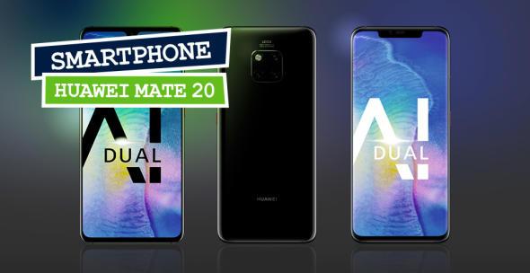 Das Huawei Mate 20 und das Huawei Mate 20 Pro in der Frontansicht.