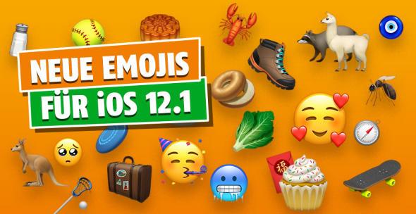 Neue Emojis für iOS 12.1