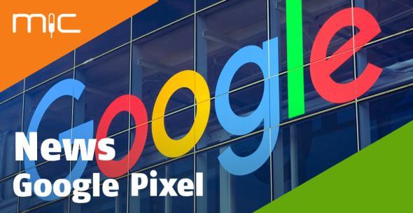 Ein Google-Schriftzug