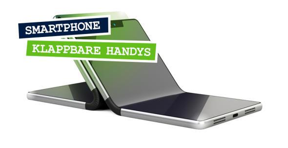 Die neue Generation Klapphandys ist mit flexiblen und faltbaren Displays ausgestattet.
