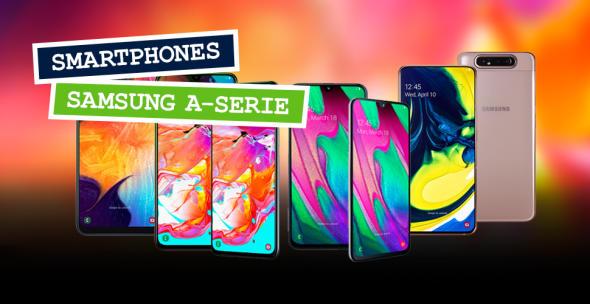 Smartphones der Samsung Galaxy A-Serie