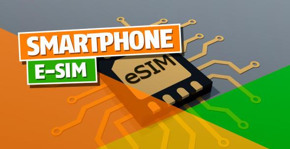 Eine eSIM ist fest im Smartphone verbaut und ersetzt die klassische SIM-Karte.