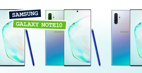 Das neue Samsung Galaxy Note 10 und Note 10 Plus