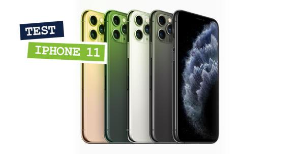 Das iPhone 11 Pro in allen Farbvarianten.