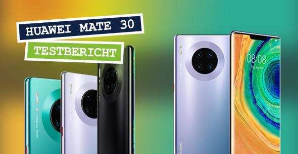Das Huawei Mate 30 Pro in verschiedenen Farbvarianten.