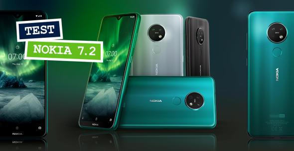 Das Nokia 7.2 in allen Farbvarianten.