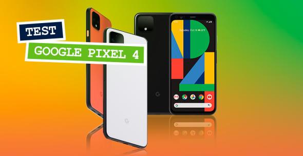 Das Google Pixel 4 in verschiedenen Farbvarianten.