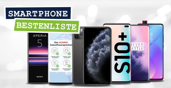 Die besten Smartphones 2019: Apple, Huawei, Samsung und Co.