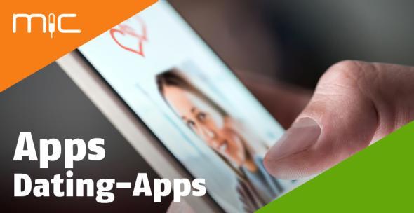 Ein Smartphone-User nutzt eine Dating-App auf dem Handy.
