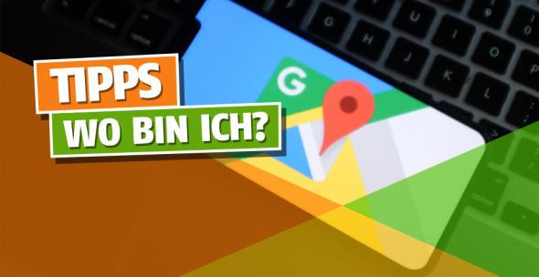 Auf einem Smartphone ist das Logo von Google Maps eingeblendet.