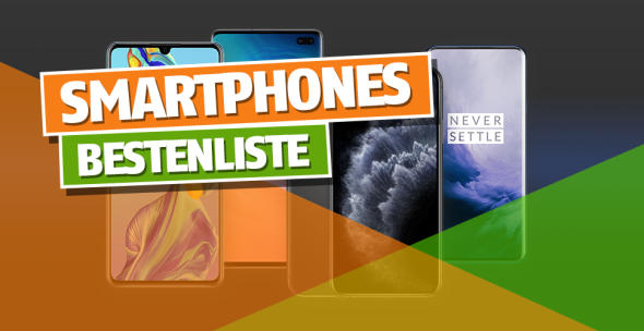 Eine Auswahl der besten Handys, die 2019 auf den Markt kamen.