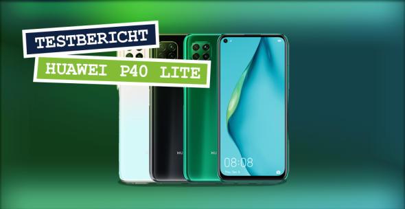 Das Huawei P40 lite in drei Farbvarianten.