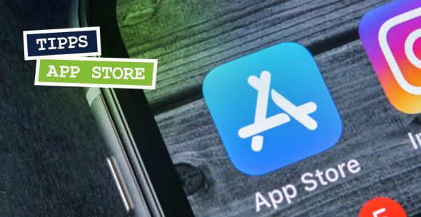 Das Logo des App Stores