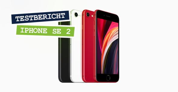 Die drei Ausführungen des iPhone SE 2 in Reihe