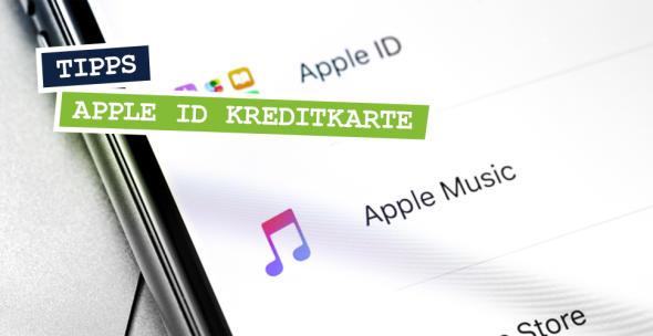 """Einstellungen beim iPhone mit dem Menupunkt """"Apple ID"""""""