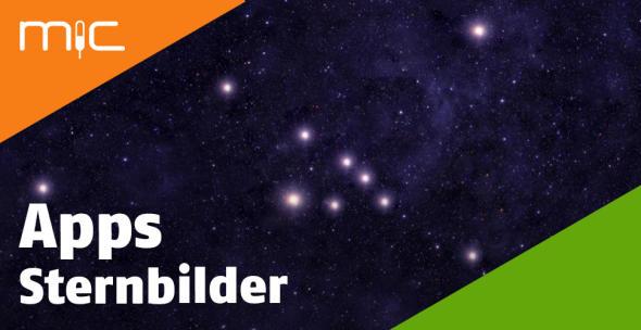Ein Sternenbild am Himmel.